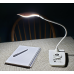ViviLux LED Task Lamp with Wireless Charger, USB Port and Rechargeable Battery