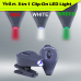 ViviLux 3-In-1 Clip On LED Lights