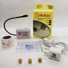 ViviLux 3-in-1 Rechargeable RED Laser System --Velcro