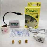 ViviLux 3-in-1 Rechargeable GREEN Laser System -- MAGNET